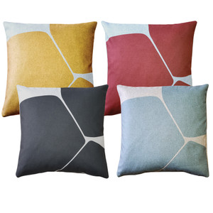 Aurora Throw Pillows 19 Inch Square from Pillow Decor