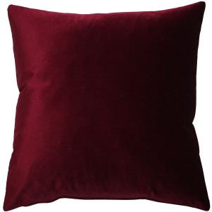 Corona Scarlet Velvet Pillow 19x19