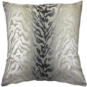 Ruffino Fog Chenille Throw Pillow 24x24