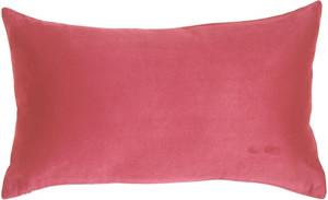 12x20 Royal Suede Pink Throw Pillow
