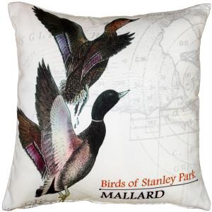 Mallard Bird Pillow 18X18