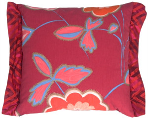 Magnificent Magenta Decorative Pillow