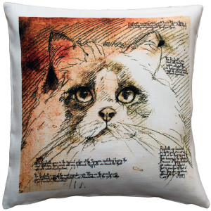 Ragdoll Cat Pillow