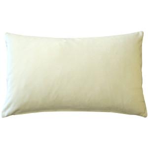 Corona Ivory Velvet Pillow 12x20