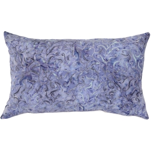 Purple Haze Floral Throw Pillow 13x22