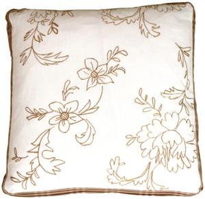 Swiss Flower Box Decorative Pillow