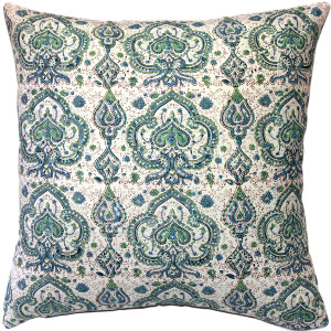 Annecy Shore Cotton Throw Pillow 19x19