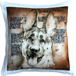 German Shepherd Dog Pillow