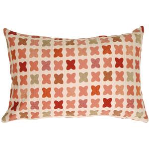 Cherry Cross on Sand Rectangular Decorative Pillow