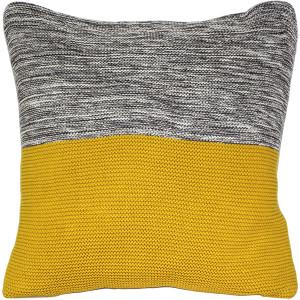 Hygge Espen Yellow Knit Pillow