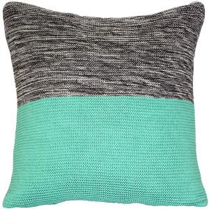 Hygge Espen Celeste Green Knit Pillow