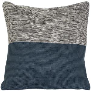 Hygge Espen Denim Blue Knit Pillow