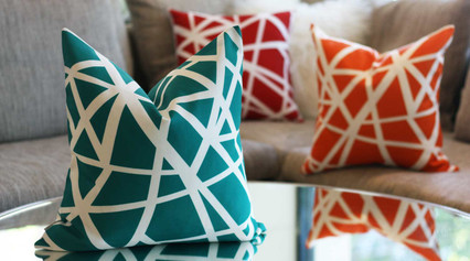 Yes, You Can Use Outdoor Pillows Inside Your Home!