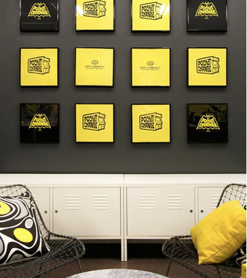 Cool Office Design - Pillows in the workplace