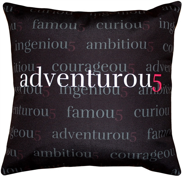Adventurou5 Throw Pillow 17x17