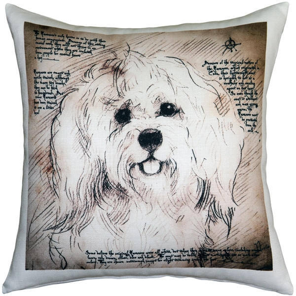 Havanese 17x17 Dog Pillow