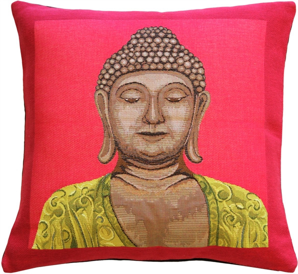 Buddha in Pink French Tapestry