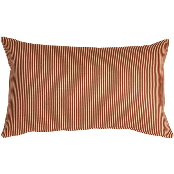 Ticking Stripe Sienna 12x19 Throw Pillow