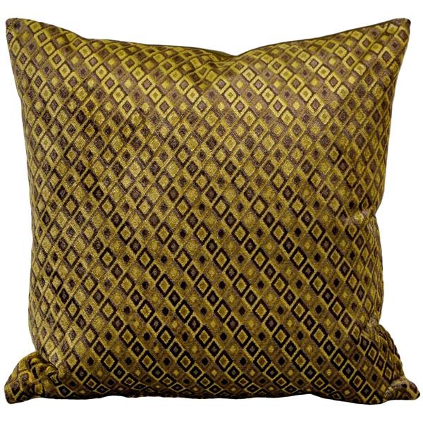 Jager Sage Diamond Throw Pillow 20x20