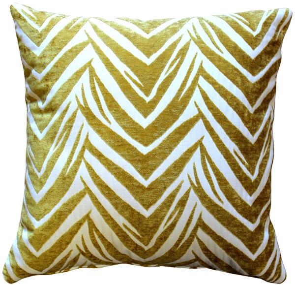 Samba Yellow 20x20 Throw Pillow