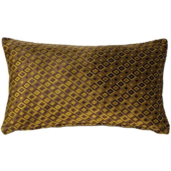 Jager Sage Diamond Throw Pillow 12x20