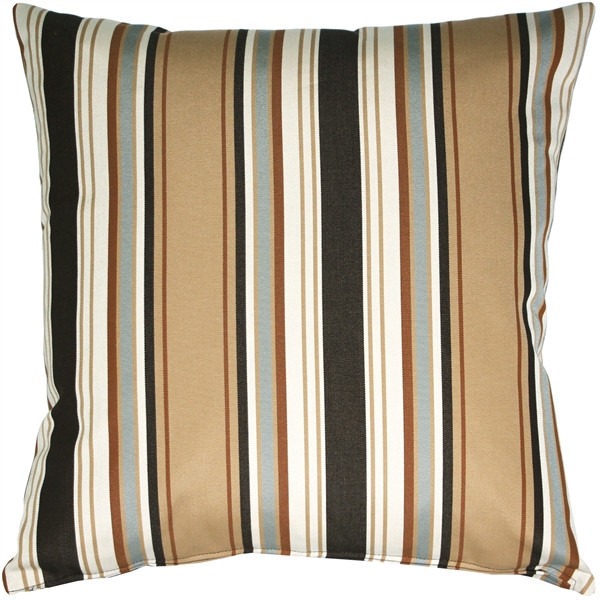 Outdura Tradewinds Driftwood Throw Pillow 19x19