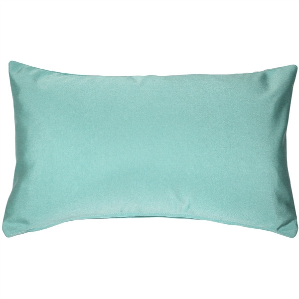 Sunbrella Glacier Blue 12x19 Outdoor Pillow