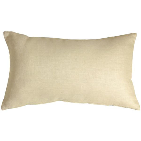 Tuscany Linen Cream 12x19 Throw Pillow
