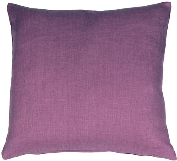 Tuscany Linen Purple 20x20 Throw Pillow