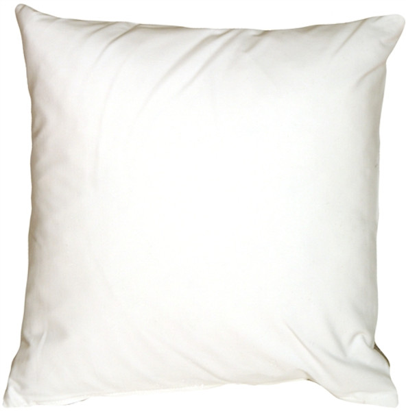 Caravan Cotton White 16x16 Throw Pillow