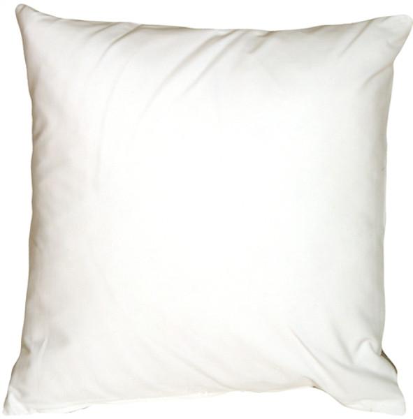 Caravan Cotton White 18x18 Throw Pillow