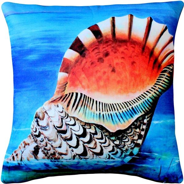 Maui Great Triton Throw Pillow 20x20