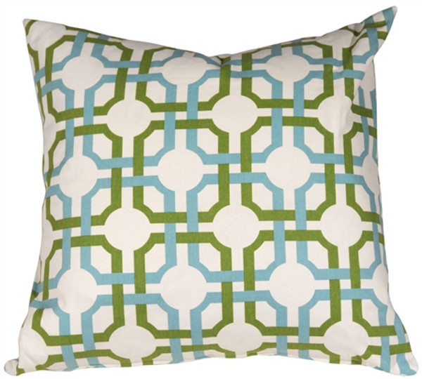 Waverly Groovy Grille Confetti 22x22 Throw Pillow