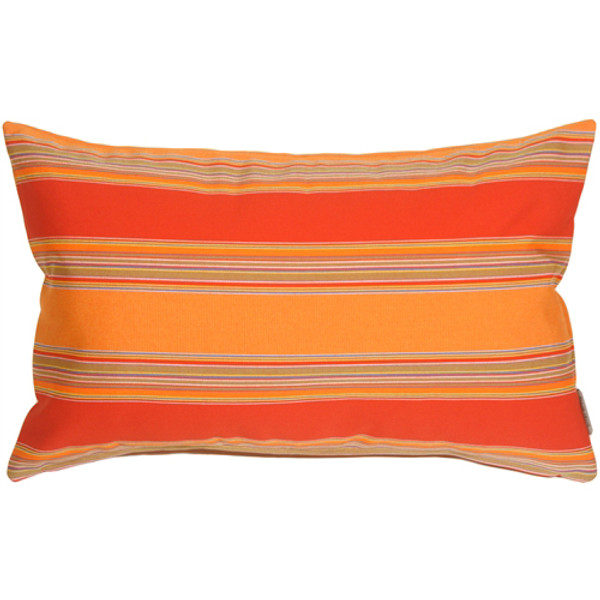 Sunbrella Bravada Salsa 12x19 Outdoor Pillow