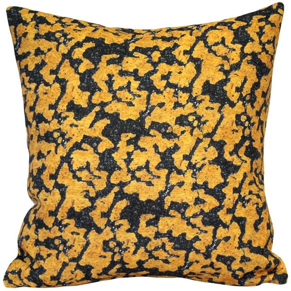 Island Coral Throw Pillow 17x17