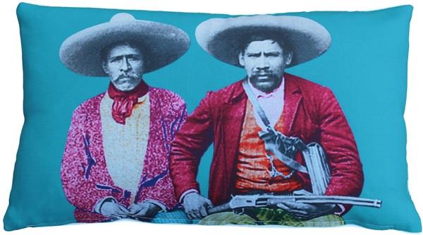 Pillow Decor's dos banditos graphic pillow