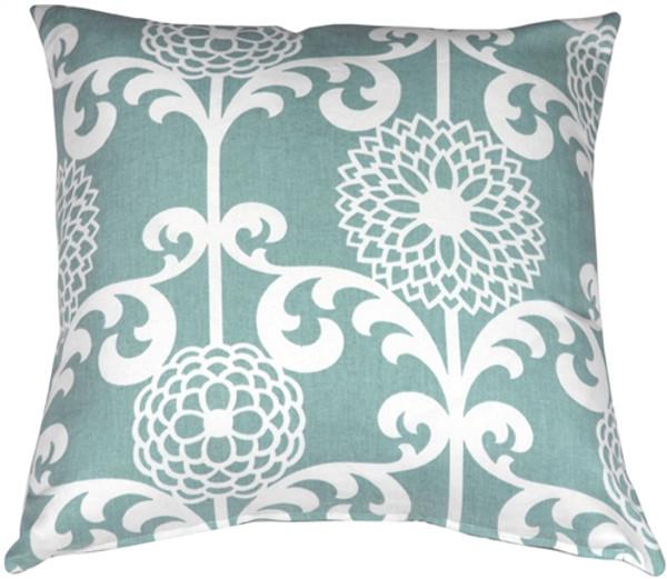 Waverly Fun Floret Spa 20x20 Throw Pillow
