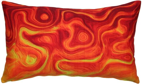 Catching Fire Throw Pillow 12x19