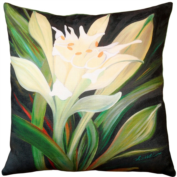 Pamianthe Lily 20x20 Throw Pillow