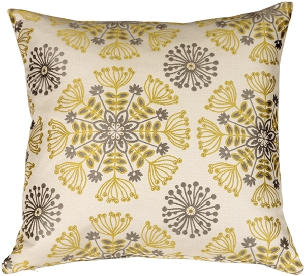 Waverly Kaleidoscope Sterling 20x20 Throw Pillow