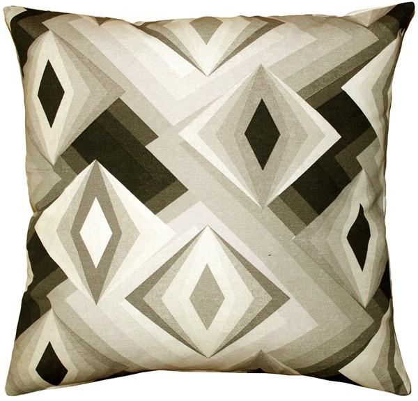 Asscher Cut Throw Pillow 17x17