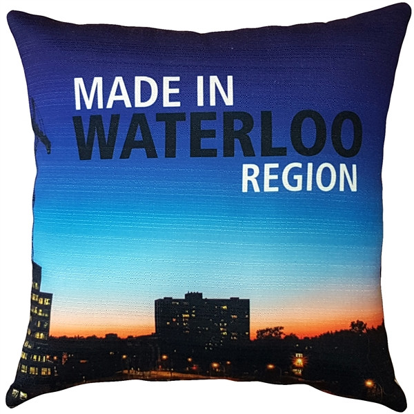 MADE IN WATERLOO Event Pillow