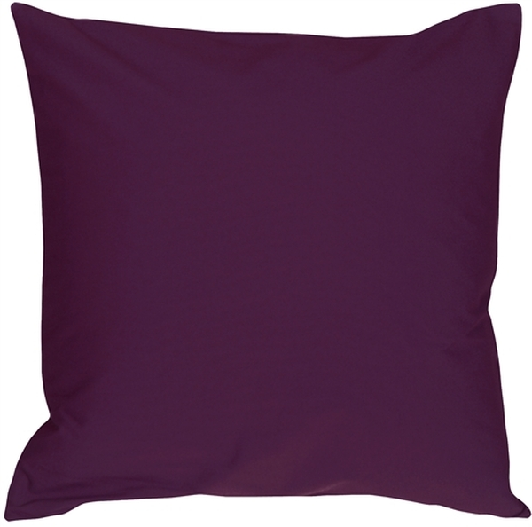 Caravan Cotton Purple 16x16 Throw Pillow