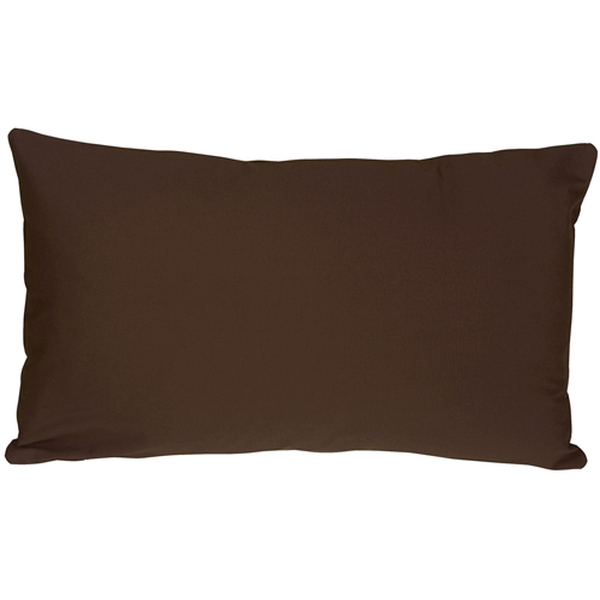 Caravan Cotton Brown 12x20 Throw Pillow