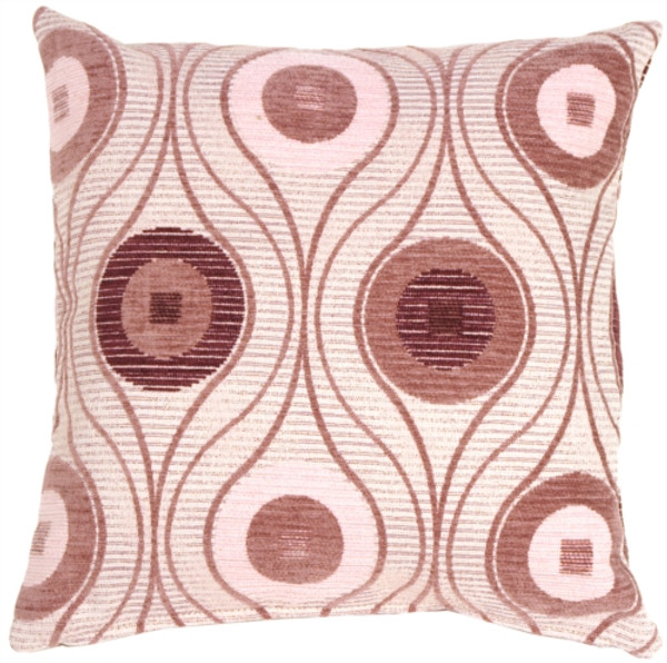 Pods in Mauves Throw Pillow