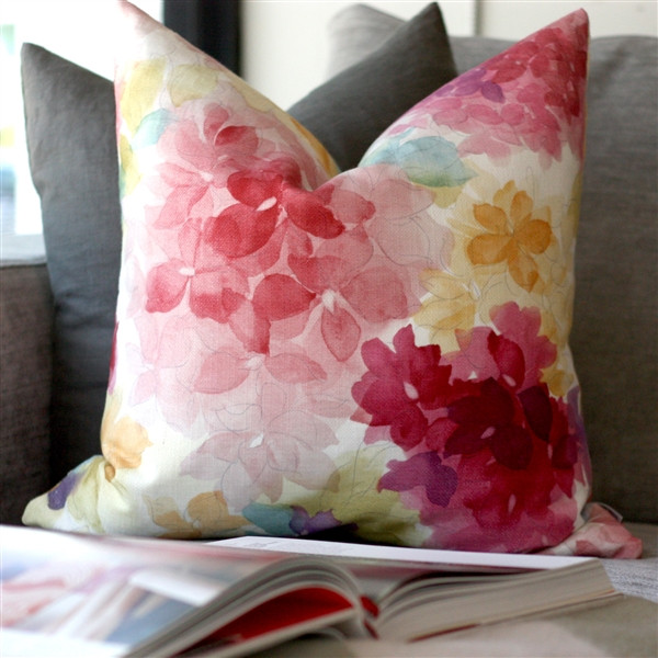 May Flower Throw Pillow 20X20