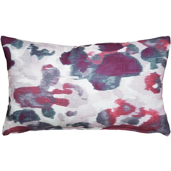 Brandy Bay Blush Floral Throw Pillow 12x19