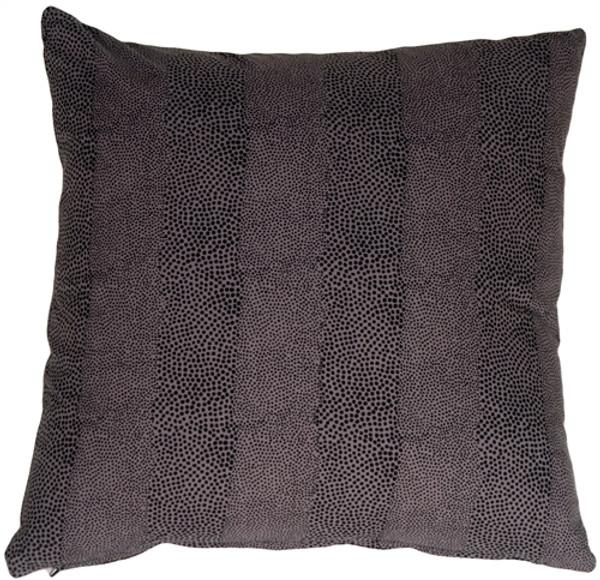 Cobra Print Cotton Small Throw Pillow