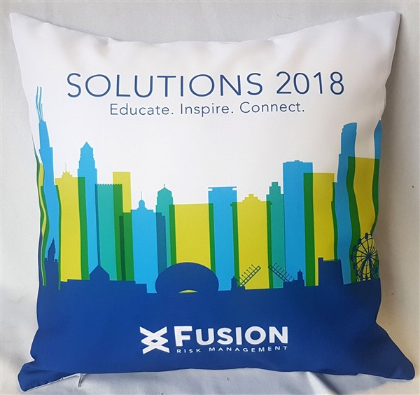 FUSION RISK MANAGMENT Event Pillow
