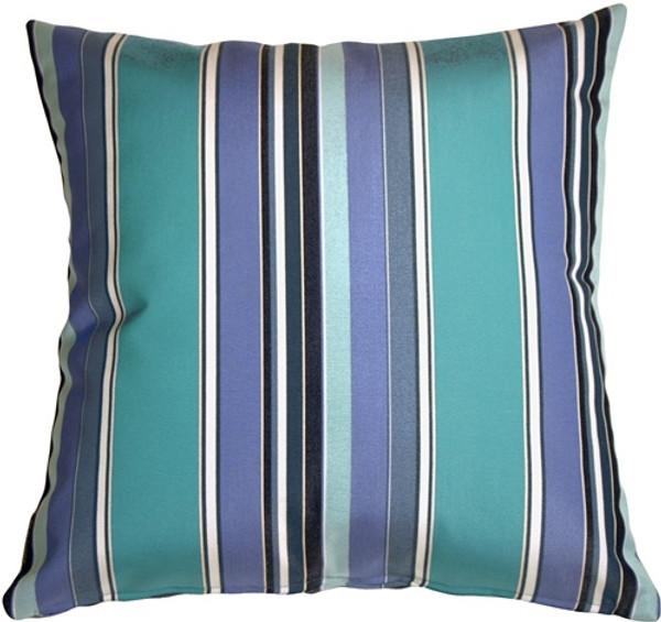 Sunbrella Dolce Oasis Stripes Outdoor Pillow